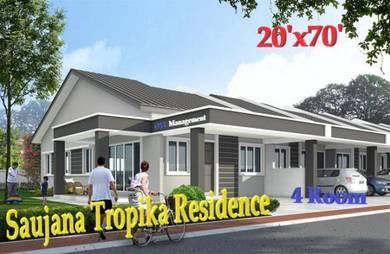 【Rumah Baru】Rumah Teres Setingkat 20'x70' Termurah Di Ipoh