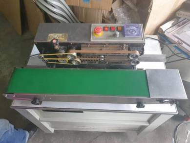 Stainless Steel Horizontal Continuous Band Sealer