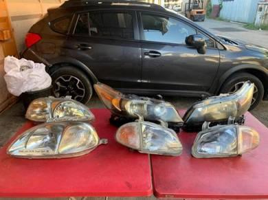 Honda ek,stream,civic del sol head light