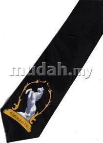 Horse Cartoon BLACK Neck Tie