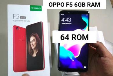 Oppo F5 Plus 6GB RAM 64GB ROM limited edition red