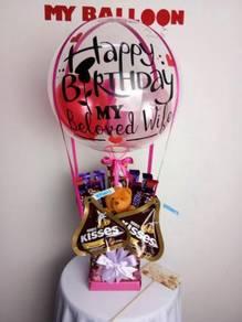 Bunga coklat / jambangan bunga cantik