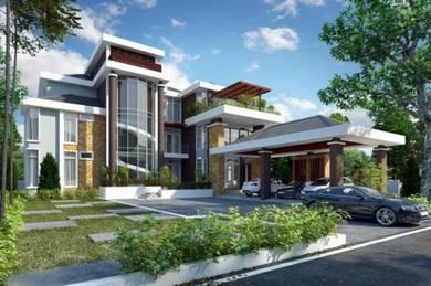 Bina Rumah Banglo Atas Tanah Sendiri Terengganu