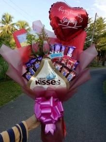 Hadiah Bunga Coklat / Surprise Yg Tersayang