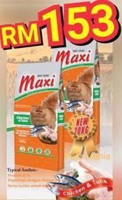 Maxi Premium Cat Food 20kg