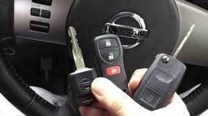Nissan Flipkey remote control - Flip key