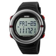 SKMEI 1111 Sport Watch, Heart Rate Monitor, Pedome