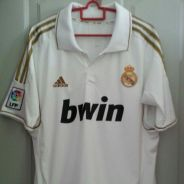 Real Madrid 2011/12 home jersey/jersi