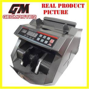 GEOMASTER Note counter money counter machine mg/uv