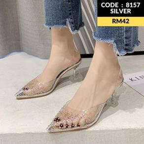 8157 Muller Transparent High Heels ( size 35-39)