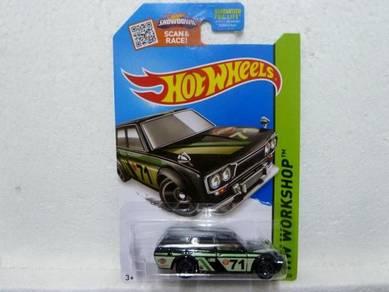 Hotwheels '71 Datsun Bluebird 510 Wagon #202