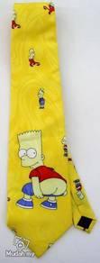 Bart Simpson Novelty Cartoon Fancy Neck Tie