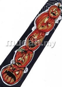 Halloween Pumpkin Cartoon Novelty Fancy Neck Tie
