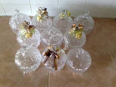 Mangkuk Crystal candy cookie bowl
