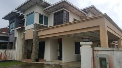 Double Storey Semi D at Heights Drive, Stutong