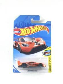 Hotwheels Ford GT Race 2016 #4 Orange