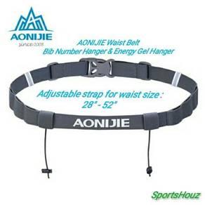 AONIJIE Bib Hanger & Energy Gel Holder Waist Belt
