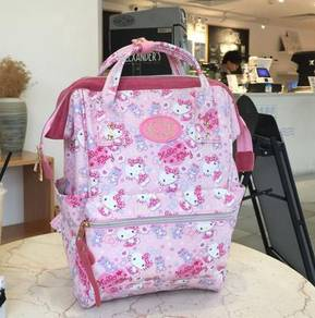 Hello Kitty red pink backpack bag HB201