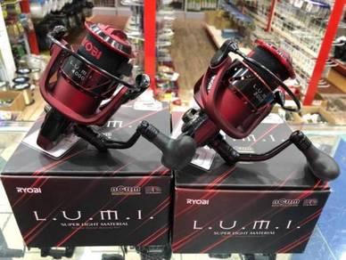 (NEW) RYOBI LUMI 3000 ~ 5000 Fishing Reel Pancing