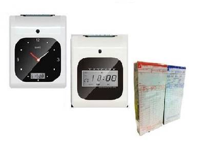 K 60.8 Time recorder punch card + 8 years warranty