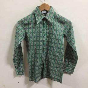 Paris Made In West Germany Shirt Size XS green