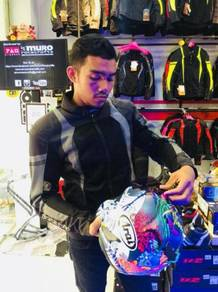 IZ2 365 Waterproof Riding Jacket padding (GREY)