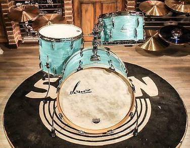 Sonor Vintage Series 3-piece California Blue Drum