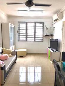 Sri Wangsa Jelutong 650sf SUPERB Renovated Furnished Well Maintained