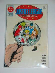 JUSTICE LEAGUE QUARTERLY. 1990. issue 3