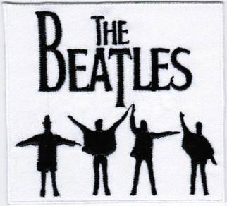 The Beatles #TW Rock Band #2 Badge Iron On Patch