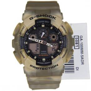 G-SHOCK Marble Camouflage Model GA-100MM-5ADR