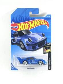 Hotwheels Nightburnerz Porsche 934.5 #2 Blue