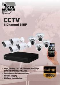 THE BEST CCTV 8 CHANNEL 2MP/FULL HD - a19a
