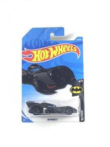 Hotwheels 2018 Batman 1989 Batmobile #4 Black