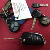 Toyota Car Meta Cobra Remote control Flipkey Key