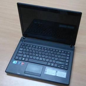 Acer 4738G - i5/amd grafik