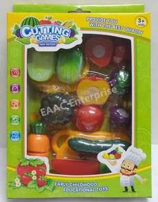 Fruit & Vegetabale Cut Set - Early Educational Toy