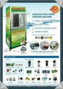 Services water filters vending machines
