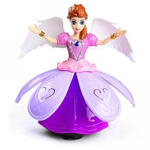 Musical Angel Girl Elsa Toy with Song and Lighting