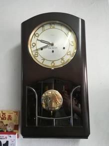 Ber1 Antique German Kienzle Deluxe Clock Jam Antik