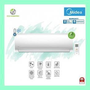 1hp Midea non inverter wall mounted aircond