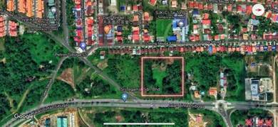 6.413 Acres CL Land near Jalan Lintas Sibuga Mile 5