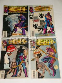 HAWKEYE. 1994. 4-part limited series. complete set