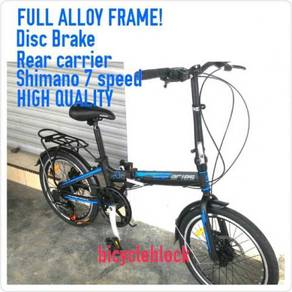 Speedgear aeries full alloy disc brake folding bik