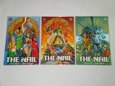 JUSTICE LEAGUE. The Nail. Elseworlds. 1-set