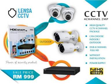 High Quality CCTV 4 Channel 2mp -m120c