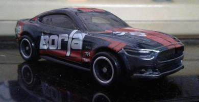 Hotwheels Ford Mustang GT Super Treasure Hunt