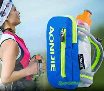 AONIJIE Handheld Pouch C/W 250ml Water Bottle