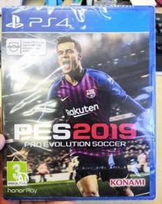 PS4 Game Pes Pro Evolution Soccer 2019