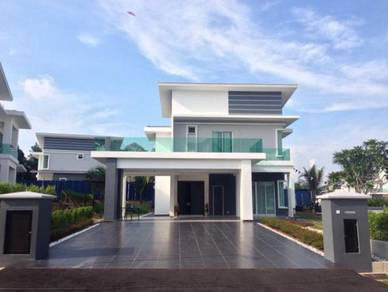 Double storey banglow